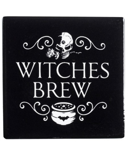 Witches Brew Ceramic Coaster at Mystic Convergence Metaphysical Supplies, Metaphysical Supplies, Pagan Jewelry, Witchcraft Supply, New Age Spiritual Store