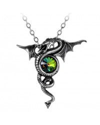 Anguis Aeternus Dragon Pewter Necklace Mystic Convergence Metaphysical Supplies Metaphysical Supplies, Pagan Jewelry, Witchcraft Supply, New Age Spiritual Store