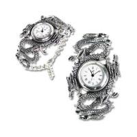 Imperial Dragon Pewter Gothic Wrist Watch