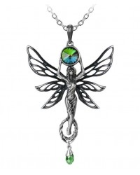 Green Goddess Absinthe La Fee Vert Necklace