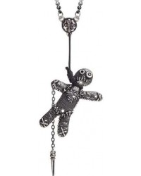 Voodoo Doll Pewter Pendant Mystic Convergence Metaphysical Supplies Metaphysical Supplies, Pagan Jewelry, Witchcraft Supply, New Age Spiritual Store