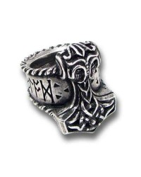 Thors Runehammer Pewter Ring Mystic Convergence Metaphysical Supplies Metaphysical Supplies, Pagan Jewelry, Witchcraft Supply, New Age Spiritual Store
