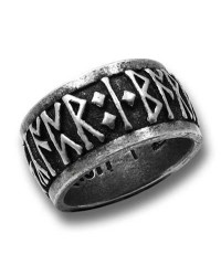 Runeband Pewter Ring Mystic Convergence Metaphysical Supplies Metaphysical Supplies, Pagan Jewelry, Witchcraft Supply, New Age Spiritual Store