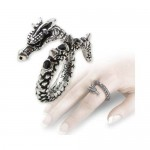 Vis Viva Pewter Dragon Ring at Mystic Convergence Metaphysical Supplies, Metaphysical Supplies, Pagan Jewelry, Witchcraft Supply, New Age Spiritual Store