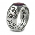 AGLA Kaballah Pewter Ring at Mystic Convergence Metaphysical Supplies, Metaphysical Supplies, Pagan Jewelry, Witchcraft Supply, New Age Spiritual Store