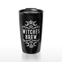 Witches Brew Brew Double Walled Travel Mug