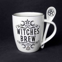 Witches Brew Mug and Spoon Set