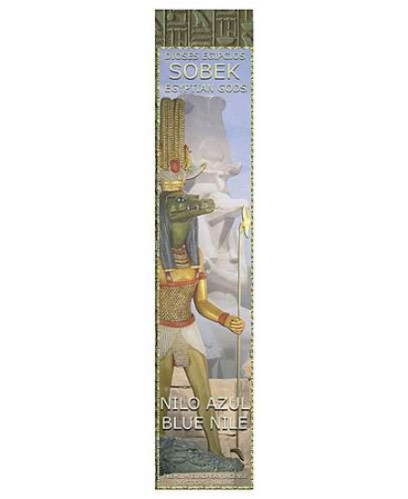 Sobek Blue Nile Egyptian Incense Sticks - Pack of 3 at Mystic Convergence Metaphysical Supplies, Metaphysical Supplies, Pagan Jewelry, Witchcraft Supply, New Age Spiritual Store