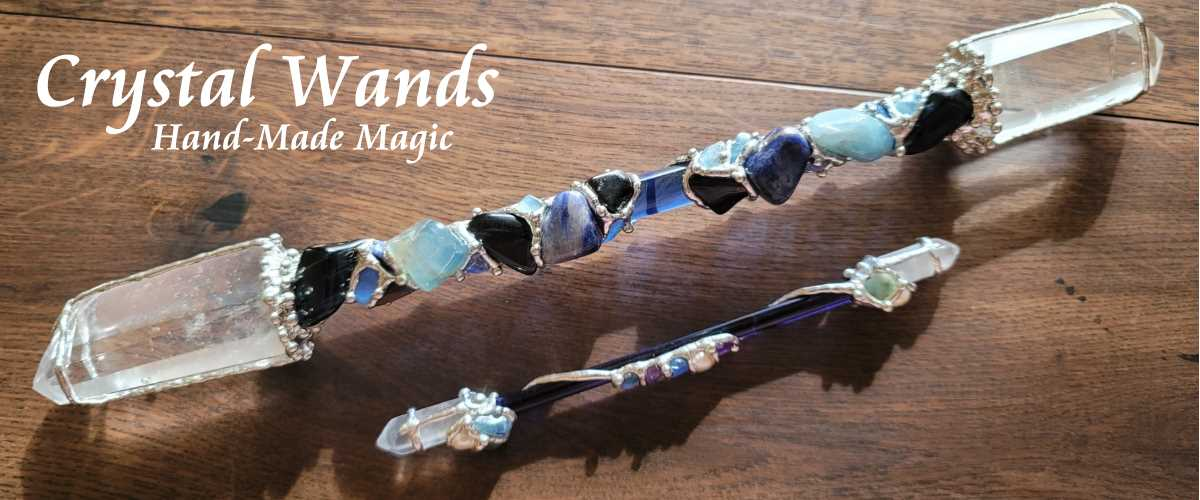 crystal healing wands for healing and energy work