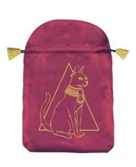 Egyptian Cat Satin Bag