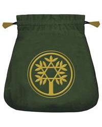 Celtic Green Velvet Tarot Bag Mystic Convergence Metaphysical Supplies Metaphysical Supplies, Pagan Jewelry, Witchcraft Supply, New Age Spiritual Store