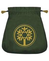 Celtic Green Velvet Tarot Bag Mystic Convergence Metaphysical Supplies Metaphysical Supplies, Pagan Jewelry, Witchcraft Supply, New Age Spiritual Store
