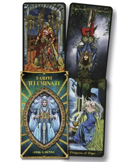 Tarot Illuminati Deck at Mystic Convergence, Wicca Supplies, Pagan Jewelry, Witchcraft Supply, New Age Magick