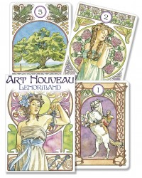 Art Nouveau Lenormand Oracle Cards