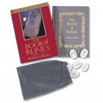 The Book of Runes 25th Anniversary Edition Set at Mystic Convergence Metaphysical Supplies, Metaphysical Supplies, Pagan Jewelry, Witchcraft Supply, New Age Spiritual Store