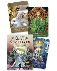 Alice the Wonderland Oracle Card Deck Mystic Convergence Magical Supplies Wiccan Supplies, Pagan Jewelry, Witchcraft Supplies, New Age Store