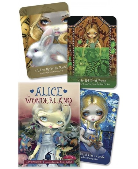 Alice the Wonderland Oracle Card Deck at Mystic Convergence Metaphysical Supplies, Metaphysical Supplies, Pagan Jewelry, Witchcraft Supply, New Age Spiritual Store