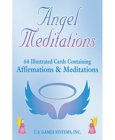 Angel Meditation Cards at Mystic Convergence Metaphysical Supplies, Metaphysical Supplies, Pagan Jewelry, Witchcraft Supply, New Age Spiritual Store