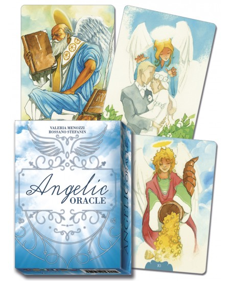 Angelic Oracle Cards at Mystic Convergence Metaphysical Supplies, Metaphysical Supplies, Pagan Jewelry, Witchcraft Supply, New Age Spiritual Store