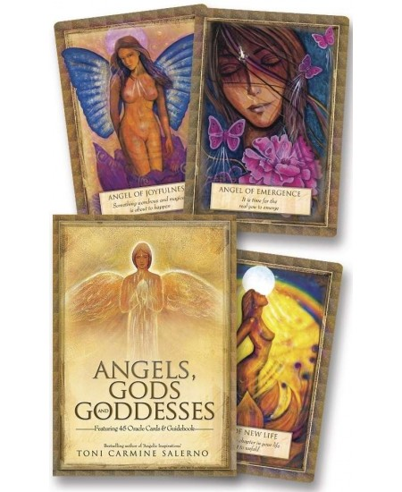 Angels, Gods and Goddesses Oracle Card Deck at Mystic Convergence Metaphysical Supplies, Metaphysical Supplies, Pagan Jewelry, Witchcraft Supply, New Age Spiritual Store