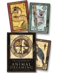 Animal Dreaming Oracle Deck Mystic Convergence Magical Supplies Wiccan Supplies, Pagan Jewelry, Witchcraft Supplies, New Age Store