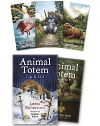Animal Totem Tarot Card Deck Mystic Convergence Magical Supplies Wiccan Supplies, Pagan Jewelry, Witchcraft Supplies, New Age Store