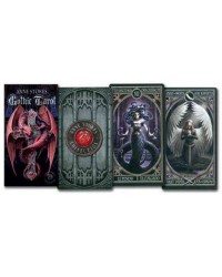 Anne Stokes Gothic Tarot Card Deck Mystic Convergence Magical Supplies Wiccan Supplies, Pagan Jewelry, Witchcraft Supplies, New Age Store
