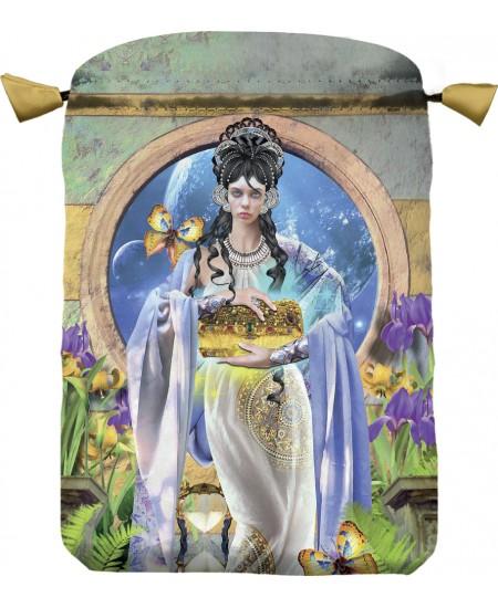 Apokalypsis Satin Bag at Mystic Convergence Metaphysical Supplies, Metaphysical Supplies, Pagan Jewelry, Witchcraft Supply, New Age Spiritual Store