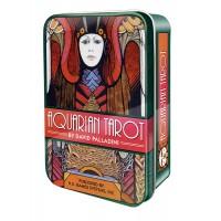 Aquarian Tarot Cards in a Tin