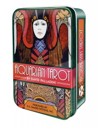 Aquarian Tarot Cards in a Tin Mystic Convergence Metaphysical Supplies Metaphysical Supplies, Pagan Jewelry, Witchcraft Supply, New Age Spiritual Store
