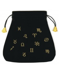 Astrological Velvet Tarot Bag Mystic Convergence Metaphysical Supplies Metaphysical Supplies, Pagan Jewelry, Witchcraft Supply, New Age Spiritual Store