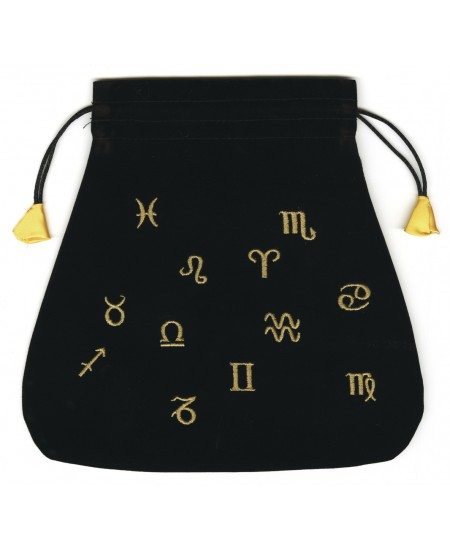 Astrological Velvet Tarot Bag at Mystic Convergence Metaphysical Supplies, Metaphysical Supplies, Pagan Jewelry, Witchcraft Supply, New Age Spiritual Store