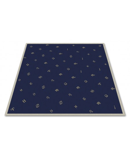 Astrology Embroidered Velvet Cloth at Mystic Convergence Metaphysical Supplies, Metaphysical Supplies, Pagan Jewelry, Witchcraft Supply, New Age Spiritual Store