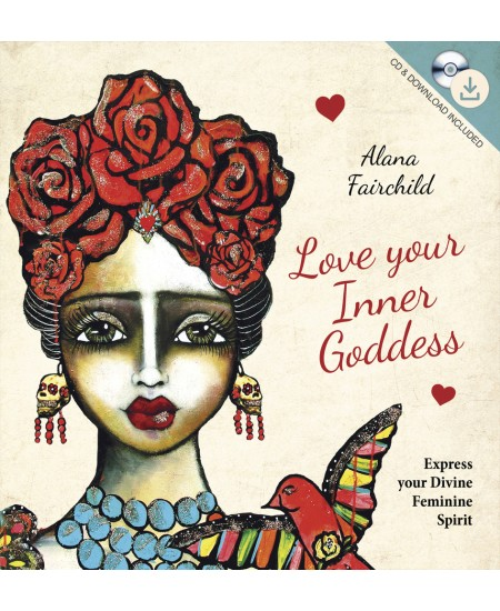 Love Your Inner Goddess Book and CD Set at Mystic Convergence Metaphysical Supplies, Metaphysical Supplies, Pagan Jewelry, Witchcraft Supply, New Age Spiritual Store