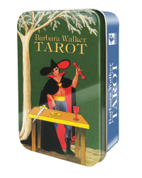 Barbara Walker Mini Tarot Cards in a Tin Mystic Convergence Metaphysical Supplies Metaphysical Supplies, Pagan Jewelry, Witchcraft Supply, New Age Spiritual Store