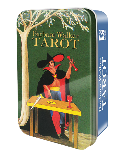 Barbara Walker Mini Tarot Cards in a Tin at Mystic Convergence Metaphysical Supplies, Metaphysical Supplies, Pagan Jewelry, Witchcraft Supply, New Age Spiritual Store