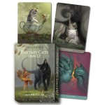 Fantasy Cats Oracle Cards by Barbieri at Mystic Convergence Metaphysical Supplies, Metaphysical Supplies, Pagan Jewelry, Witchcraft Supply, New Age Spiritual Store