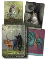 Fantasy Cats Oracle Cards by Barbieri Mystic Convergence Metaphysical Supplies Metaphysical Supplies, Pagan Jewelry, Witchcraft Supply, New Age Spiritual Store
