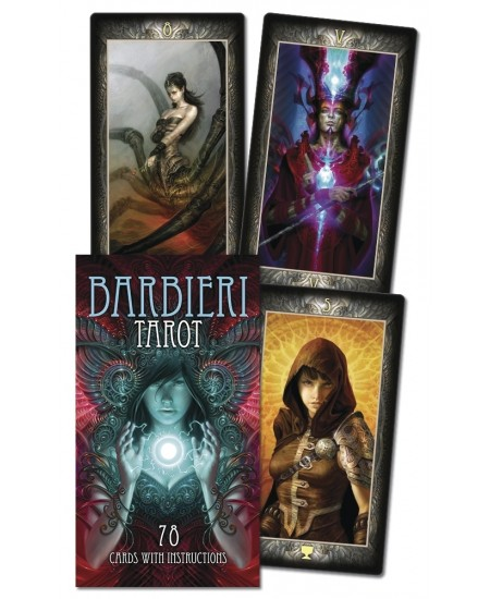 Barbieri Tarot Cards at Mystic Convergence Metaphysical Supplies, Metaphysical Supplies, Pagan Jewelry, Witchcraft Supply, New Age Spiritual Store