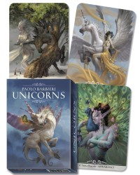 Barbieri Unicorns Oracle Cards