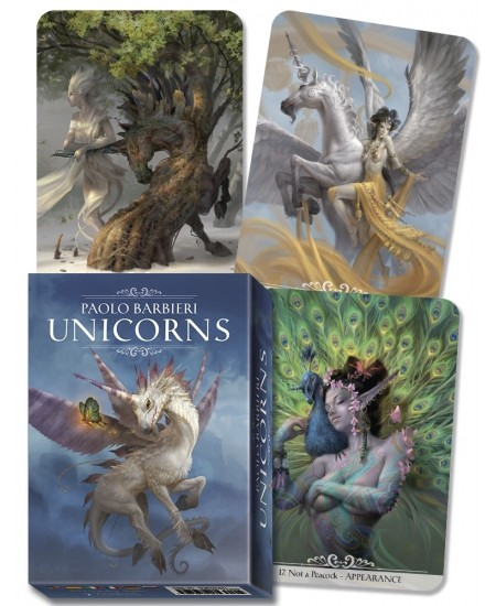 Barbieri Unicorns Oracle Cards at Mystic Convergence Metaphysical Supplies, Metaphysical Supplies, Pagan Jewelry, Witchcraft Supply, New Age Spiritual Store