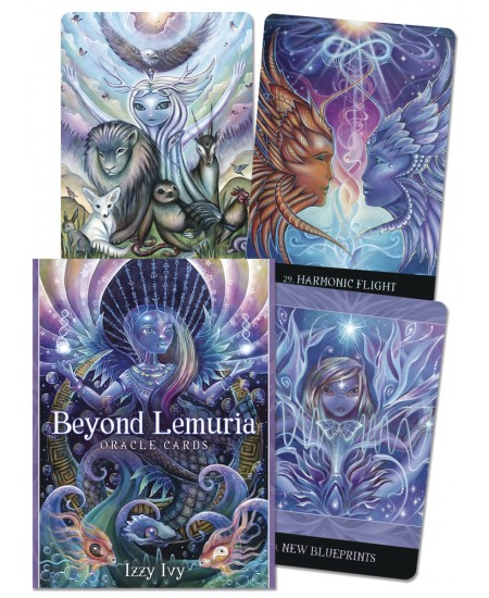 Beyond Lemuria Oracle Cards at Mystic Convergence Metaphysical Supplies, Metaphysical Supplies, Pagan Jewelry, Witchcraft Supply, New Age Spiritual Store