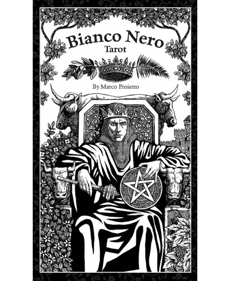 Bianco Nero Tarot Cards at Mystic Convergence Metaphysical Supplies, Metaphysical Supplies, Pagan Jewelry, Witchcraft Supply, New Age Spiritual Store