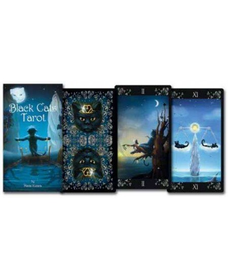 Black Cats Tarot Deck at Mystic Convergence Metaphysical Supplies, Metaphysical Supplies, Pagan Jewelry, Witchcraft Supply, New Age Spiritual Store