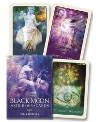 Black Moon Astrology Cards Mystic Convergence Metaphysical Supplies Metaphysical Supplies, Pagan Jewelry, Witchcraft Supply, New Age Spiritual Store