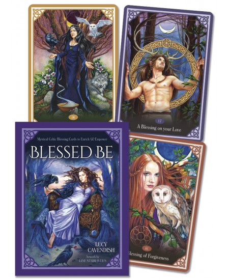 Blessed Be Tarot Cards at Mystic Convergence Metaphysical Supplies, Metaphysical Supplies, Pagan Jewelry, Witchcraft Supply, New Age Spiritual Store