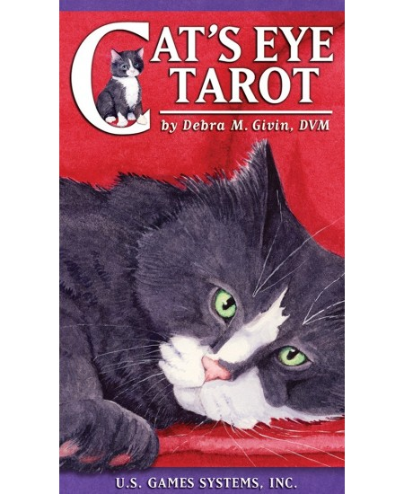 Cat's Eye Tarot Cards Deck at Mystic Convergence Metaphysical Supplies, Metaphysical Supplies, Pagan Jewelry, Witchcraft Supply, New Age Spiritual Store