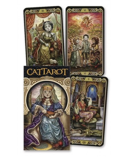 CatTarot Deck at Mystic Convergence Metaphysical Supplies, Metaphysical Supplies, Pagan Jewelry, Witchcraft Supply, New Age Spiritual Store