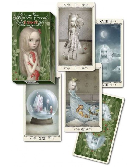 Ceccoli Tarot Card Deck - Nicoletta Ceccoli at Mystic Convergence Metaphysical Supplies, Metaphysical Supplies, Pagan Jewelry, Witchcraft Supply, New Age Spiritual Store