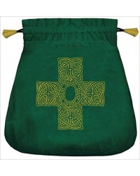 Celtic Cross Velvet Bag Mystic Convergence Metaphysical Supplies Metaphysical Supplies, Pagan Jewelry, Witchcraft Supply, New Age Spiritual Store